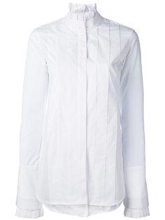 рубашка с плиссировкой Ellery