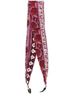 шарф с цветочным узором Roberto Cavalli