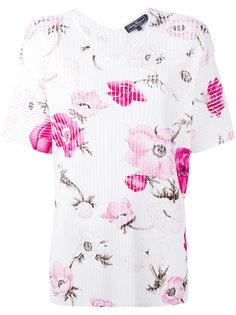 блузка с цветочным узором Salvatore Ferragamo