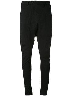 асимметричные брюки с заниженным шаговым швом Poème Bohémien