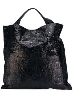 фактурная сумка-тоут Jil Sander
