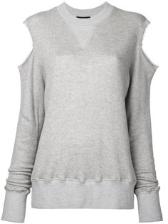 cut-out sweatshirt Bassike