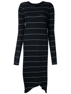 striped fitted dress Bassike