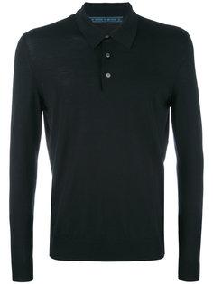 рубашка-поло с длинными рукавами Kiton