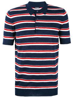 футболка-поло в полоску Kiton