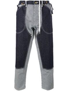 джинсы лоскутного кроя Ganryu Comme Des Garcons