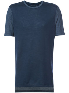 футболка с контрастными рукавами Atm Anthony Thomas Melillo