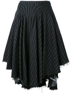 юбка в полоску Kenzo Vintage
