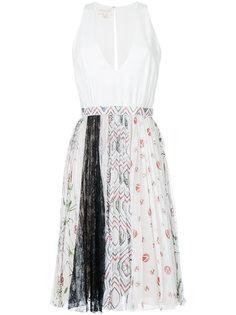 платье с юбкой с рисунком Giambattista Valli