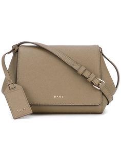 сумка через плечо с откидным верхом DKNY