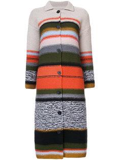 striped knitted cardigan Rosetta Getty