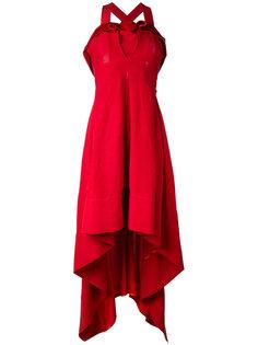 платье с асимметричным подолом Twin-Set