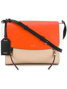 сумка через плечо дизайна колор-блок DKNY