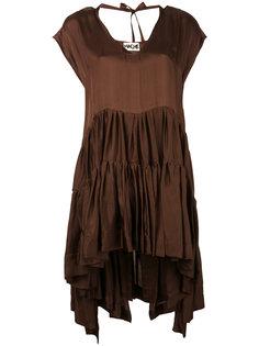 платье с неравномерным подолом Hache