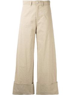 укороченные расклешенные брюки Sea