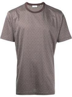 футболка с узором в ромбы Cerruti 1881