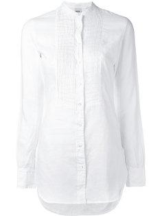 рубашка с плиссировкой Aspesi