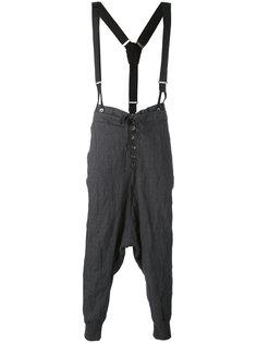 брюки с заниженным шаговым швом Greg Lauren