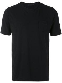 футболка с нагрудным карманом Roberto Collina