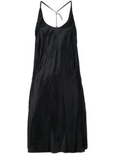 платье с отделкой жемчужинами Ann Demeulemeester