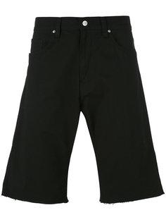 шорты с подвернутыми манжетами Carhartt