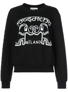 свитер со слонами Moschino