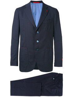 embroidered two piece suit  Isaia