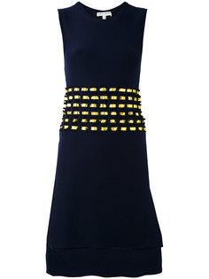 трикотажное платье с открытой спиной Each X Other