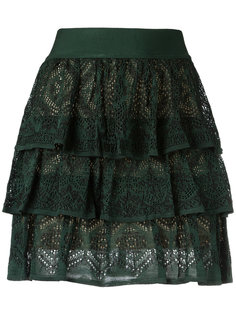 knit ruffled skirt Cecilia Prado