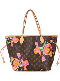 сумка-тоут с цветами Louis Vuitton Vintage