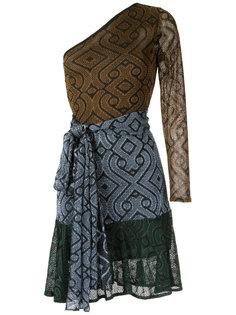 knit asymmetric dress Cecilia Prado