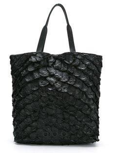 leather tote bag Osklen