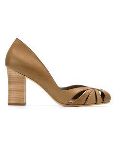 leather pumps Sarah Chofakian