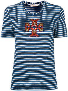 футболка в полоску Tory Burch