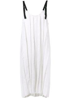 плиссированное платье без рукавов  Aviù