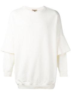 layered sweatshirt  Yeezy