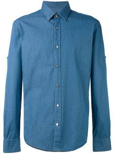 джинсовая рубашка Boss Hugo Boss