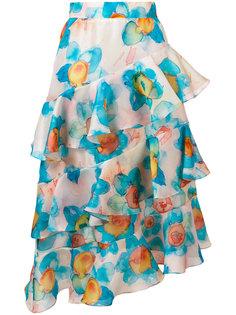 юбка миди с рюшами Daizy Shely