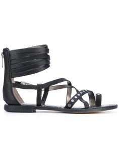 сандалии с ремешками на щиколотке Sam Edelman