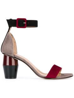 туфли с пряжками Marc Ellis