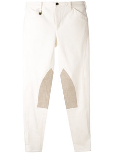 knee patches skinny trousers Ralph Lauren