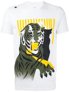 футболка с принтом тигра The Editor