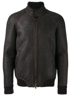 high neck bomber jacket Salvatore Santoro