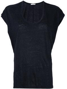 футболка с глубоким вырезом Rag & Bone /Jean