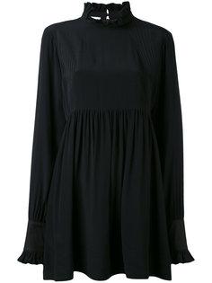 короткое плиссированное платье Paco Rabanne