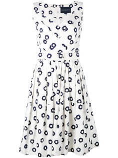 printed v-neck dress Samantha Sung