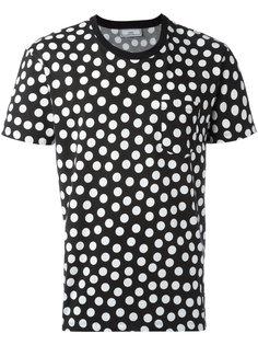 футболка в точечный принт Ami Alexandre Mattiussi
