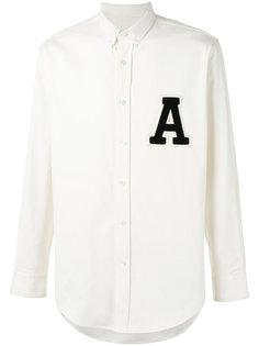 рубашка с нашивкой A Ami Alexandre Mattiussi