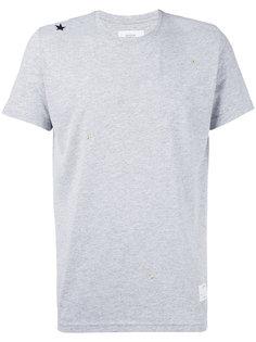 футболка с заклепкой-звездой The Editor