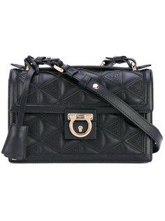 стеганая сумка на плечо Salvatore Ferragamo